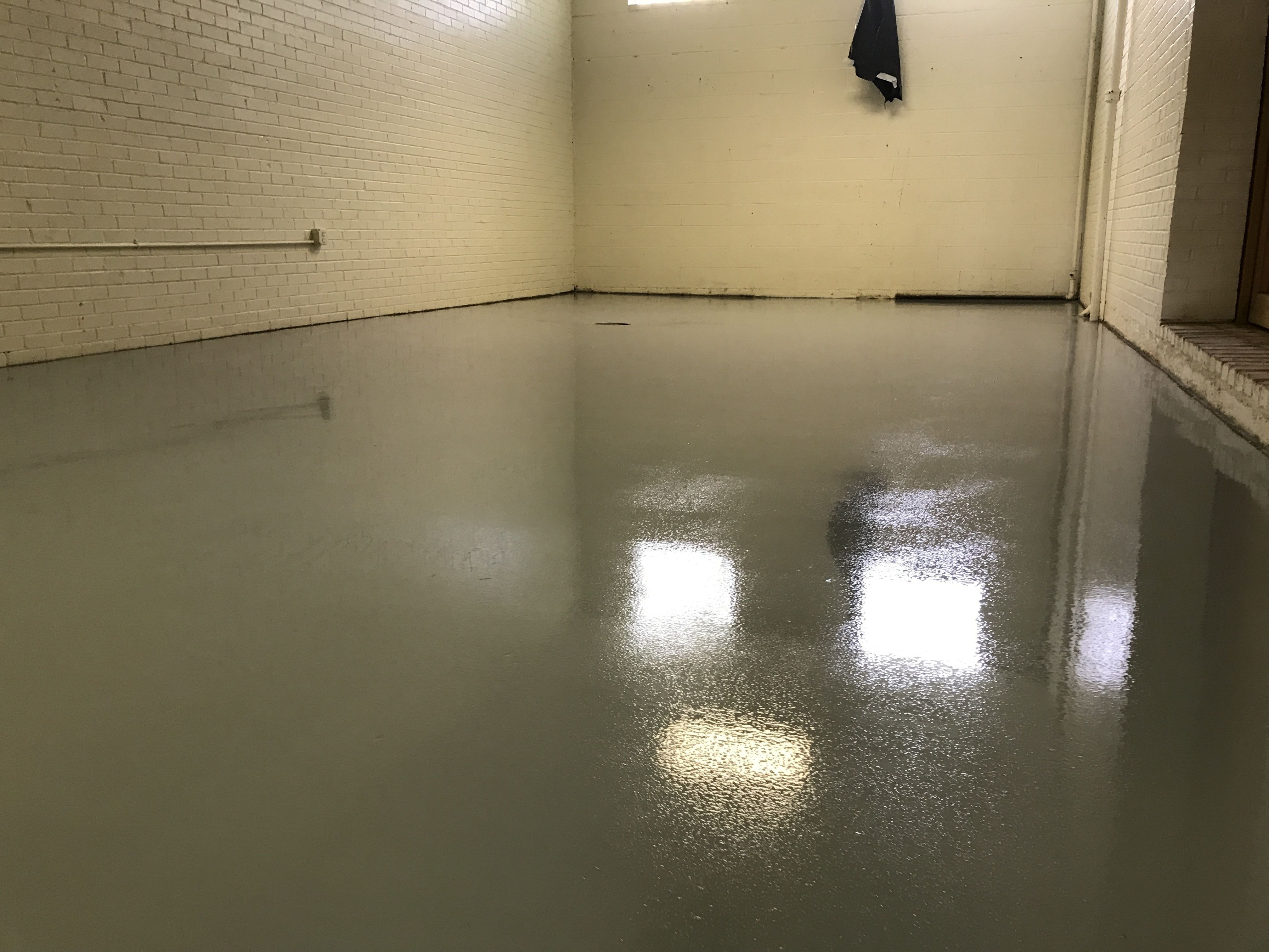 We do commercial epoxy flooring too. Get a free estimate