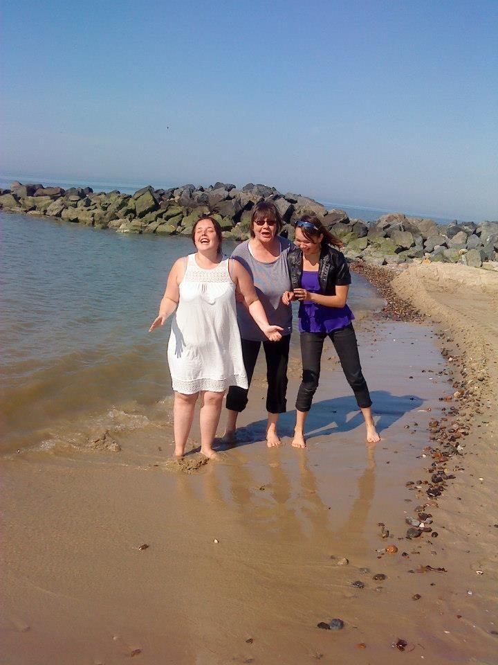 Dejlig ferie i Skallerup med mine piger og bedste Pia