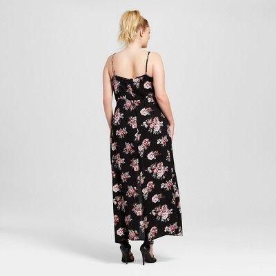 ce4d21f9e5ea Women s Plus Size Floral Cami Lace Up Hi Lo Romper Yellow 3X - Almost  Famous (