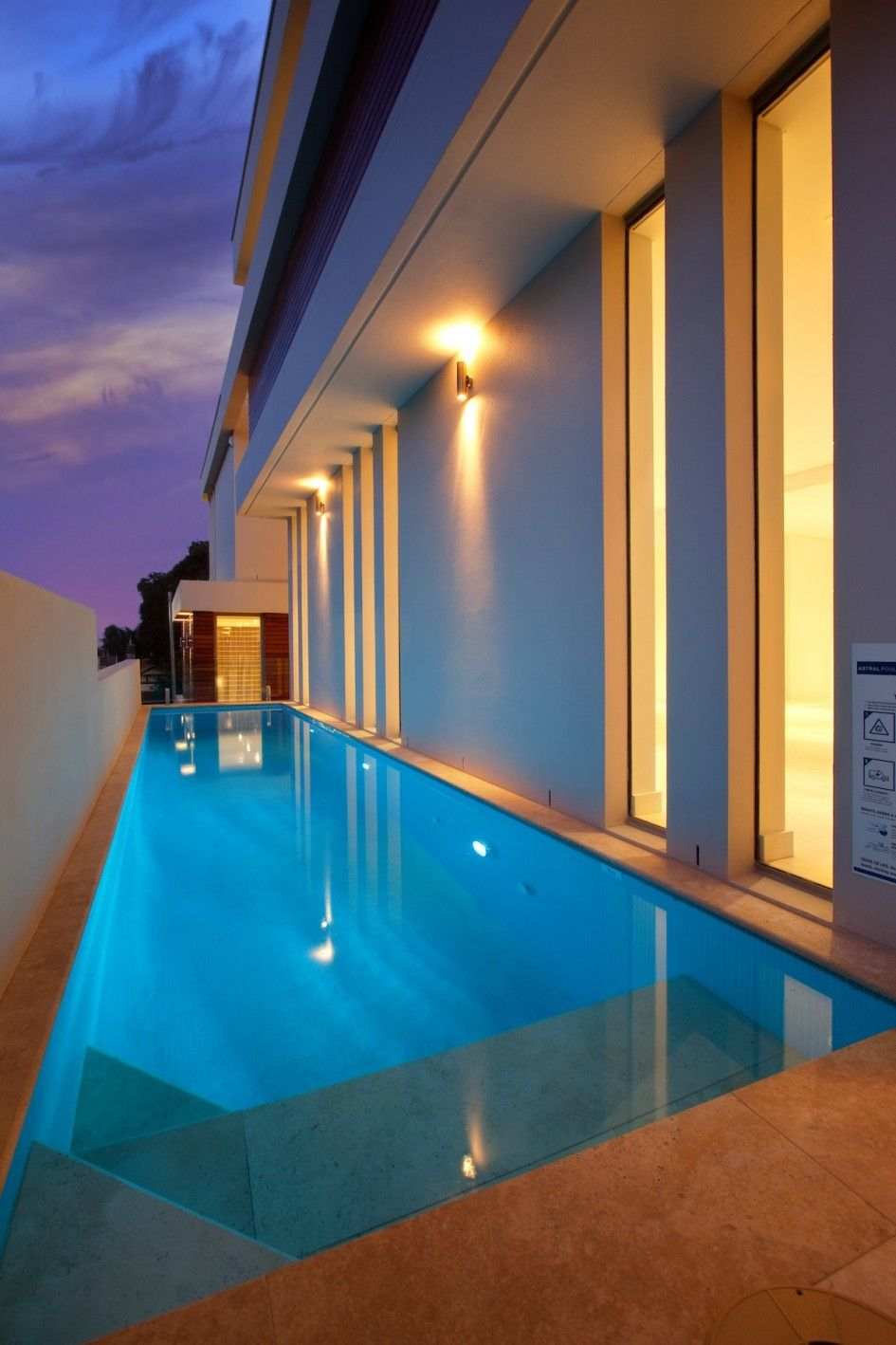 swimming pool Luxury And Minimalist Lap Pool Design Ideas How to ...
