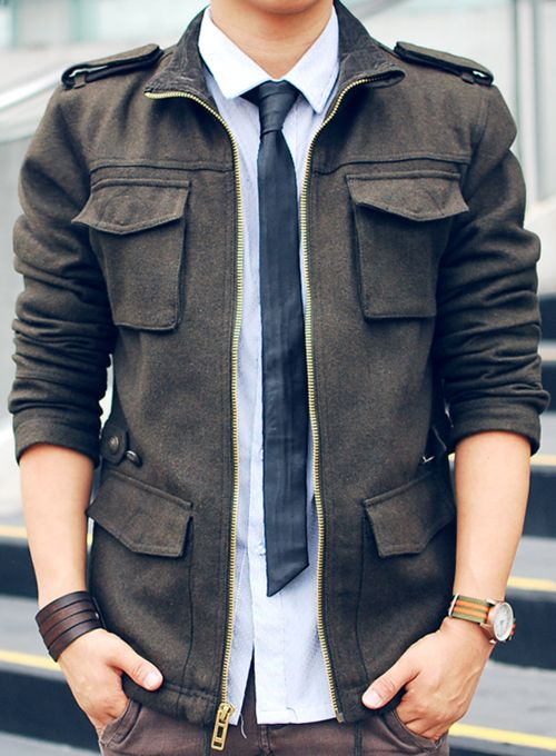 Military Style Military Inspired Fashion Well Dressed