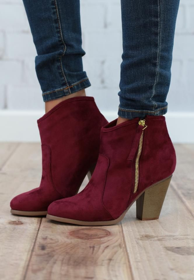9c3a30071c3 Sweet Wine Booties | SHOES | Fashion, Shoe boots, Shoes