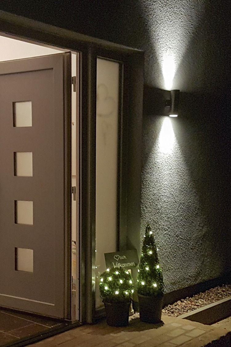 Led Wand Haustur Beleuchtung Fur Aussen Hausdekoeingangsbereichaussen Led Wand