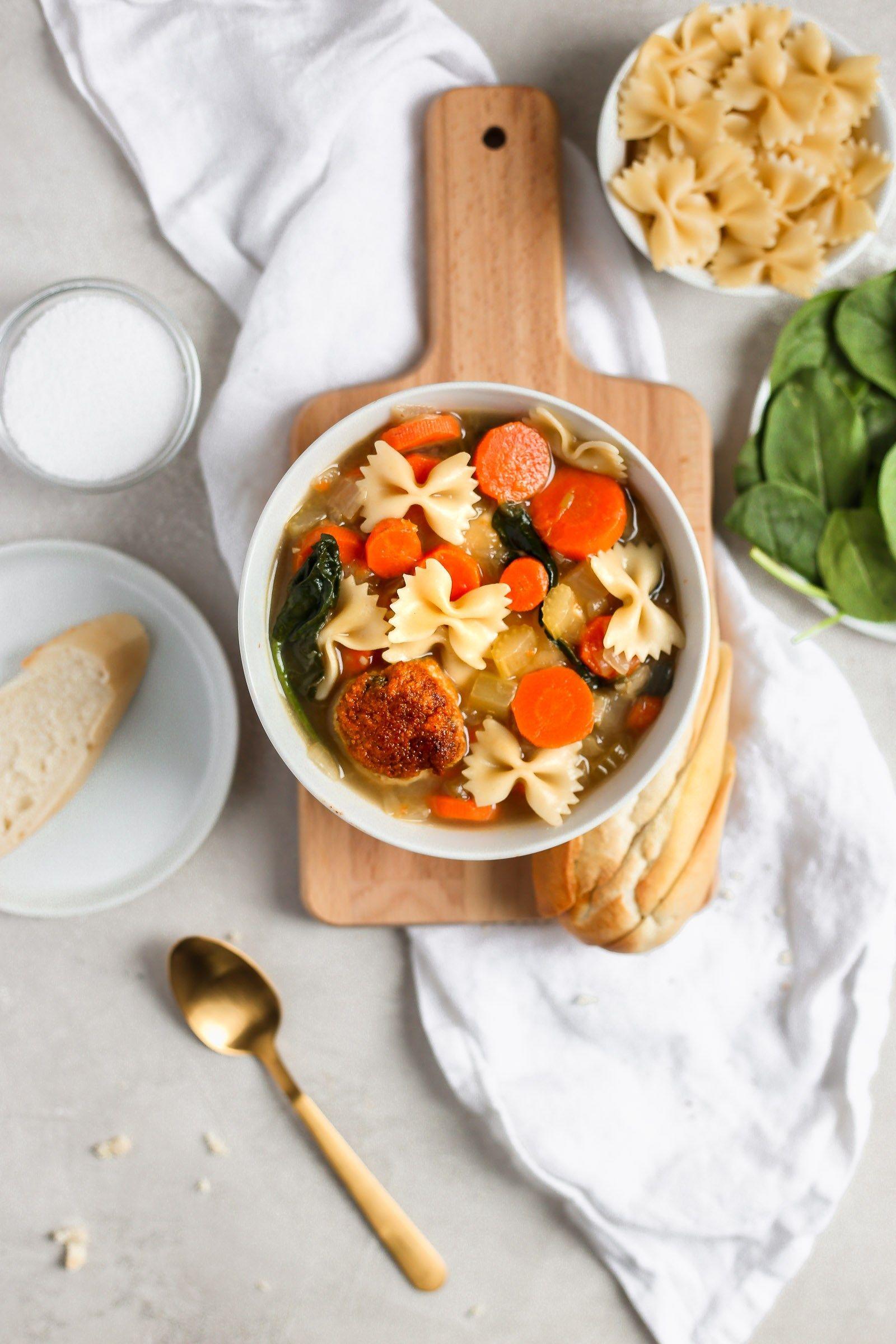 Easy Italian Wedding Soup Recipe Wedding soup, Healthy