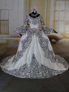 Bridal fashions victorian era 24