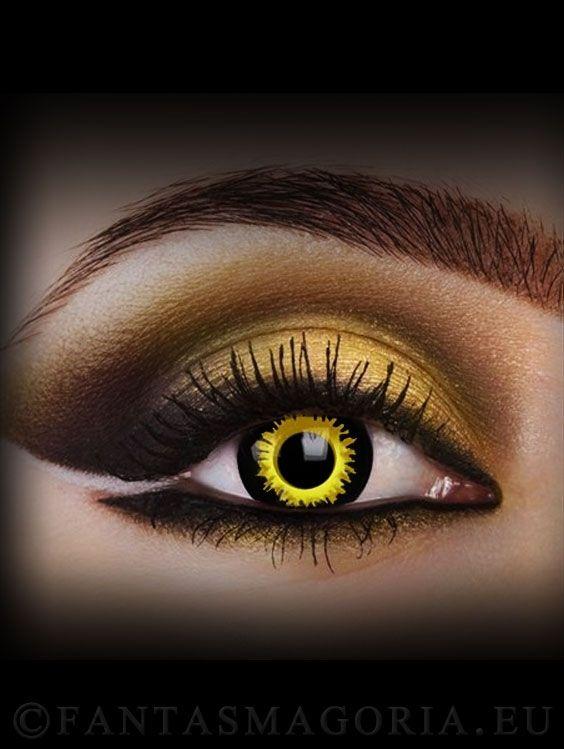 Werewolf contact lenses pair cosplay berhaupt - Geschminkte augen ...