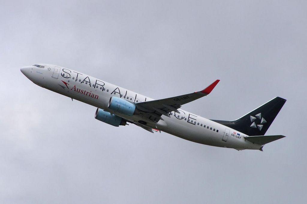Boeing 737 oelnt austrian airlines boeing 737