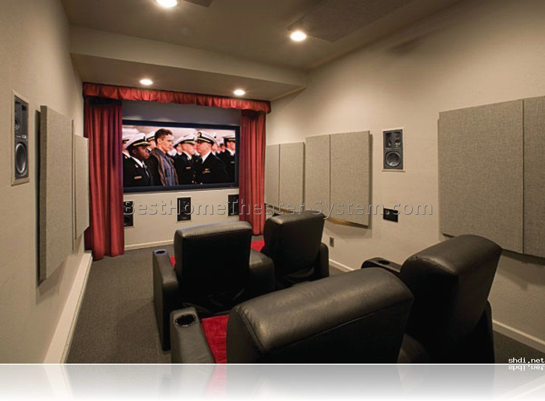 Beautiful House · Basement Home Theater Ideas, DIY, Small Spaces ...