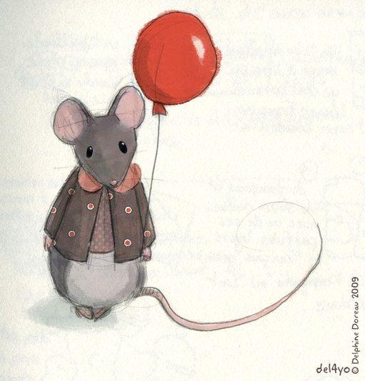 La f e des dents et la petite souris mice pinterest - Dessin de petite souris ...