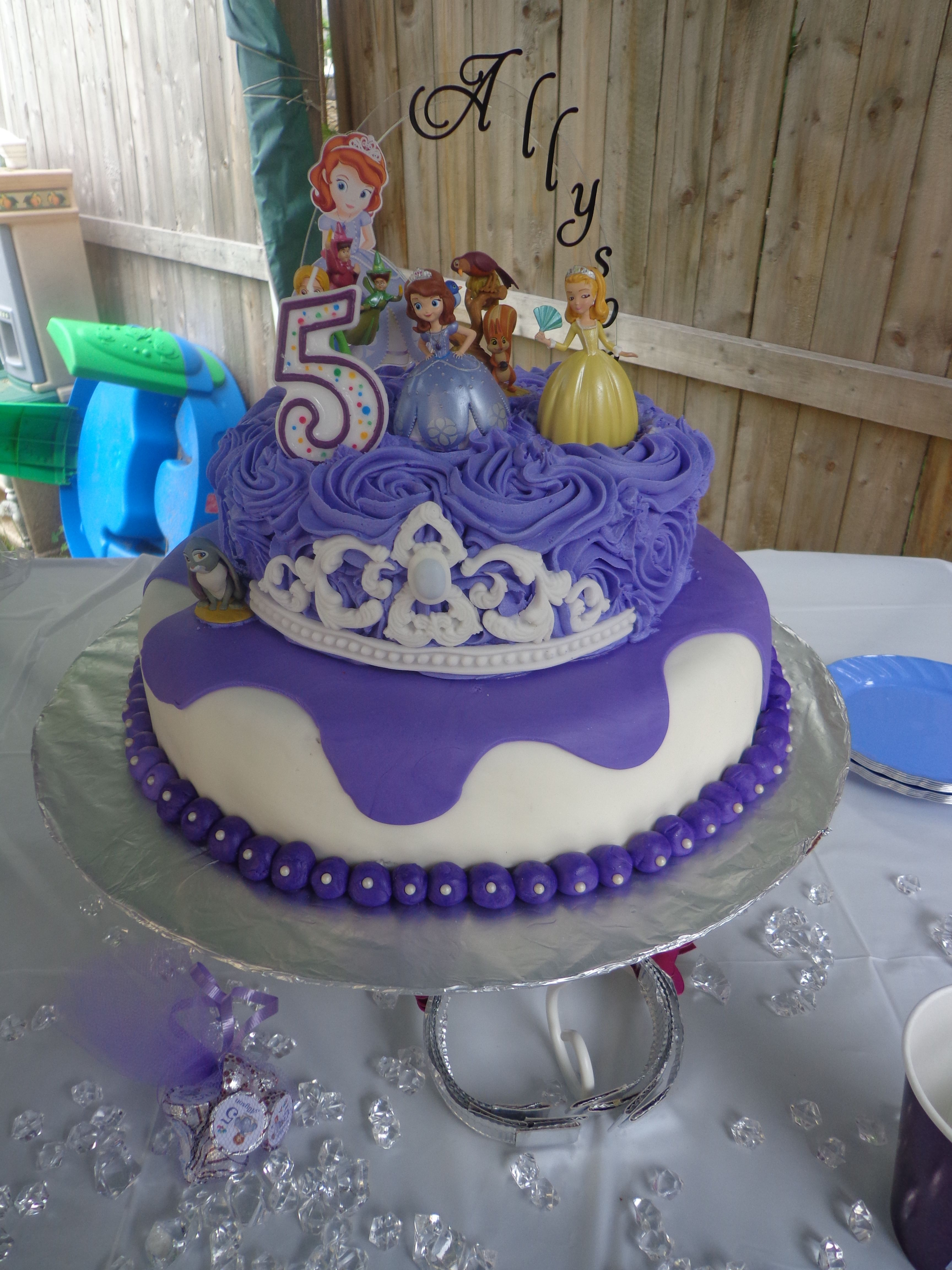 Ally s Sofia the First birthday cake My creations ...