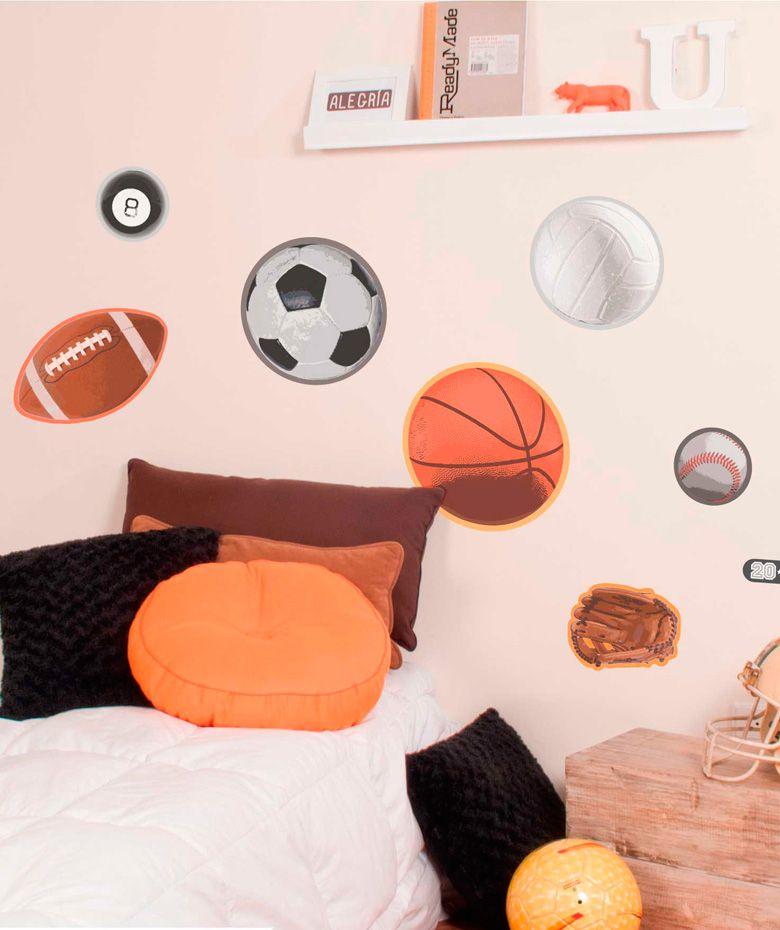 Deportes - Vinilo Adhesivo, decoración de paredes. $59.900 COP. Encuentra más vinilos adhesivos en www.giferent.com/vinilos-decorativos-adhesivos