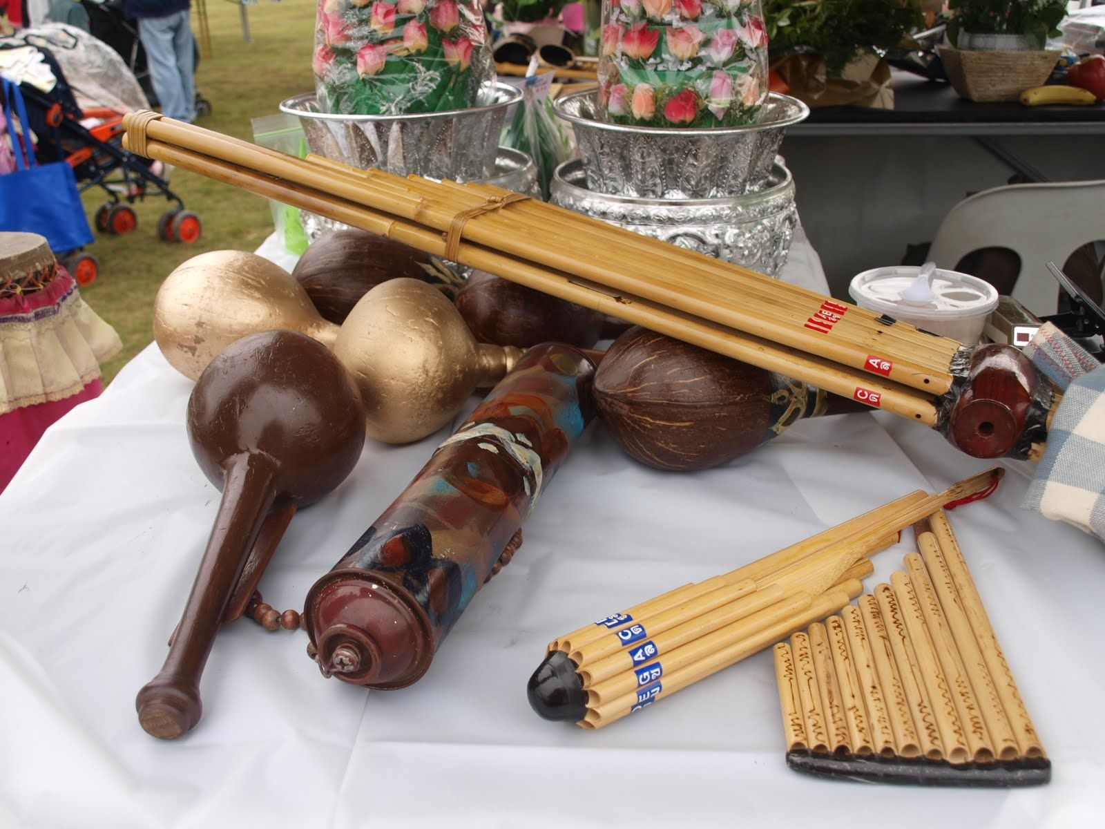 khene and other rare lao traditional musical instruments | inspire