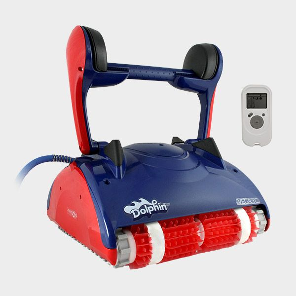 elektrischer leistungsstarker poolroboter dolphin vega tc. Black Bedroom Furniture Sets. Home Design Ideas