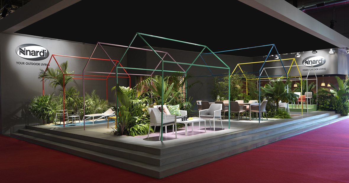 Nardi Mobili ~ Nardi garden salone del mobile 2017 styling: elisa musso stands