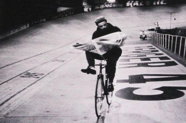 Henri Cartier-Bresson, Vélodrome D'Hiver, Paris, 1950's. The 6 day races.