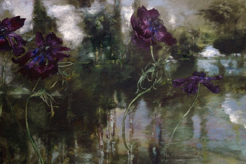 beautiful french style floral painting claire basler pinterest contemporary artists. Black Bedroom Furniture Sets. Home Design Ideas