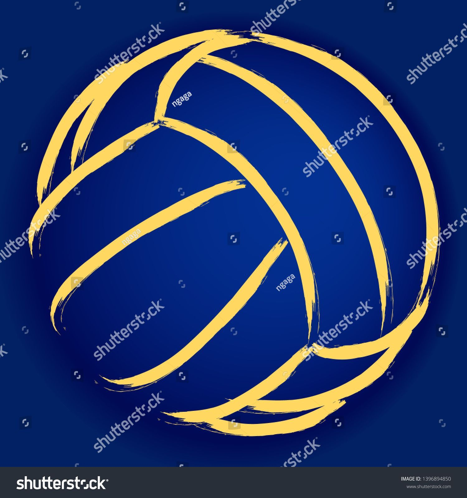 Stylized Illustration Volleyball Background Sport Vector Stock Vector Royalty Free 1396894850 Background Free In 2020 Stylized Volleyball Backgrounds Stock Vector