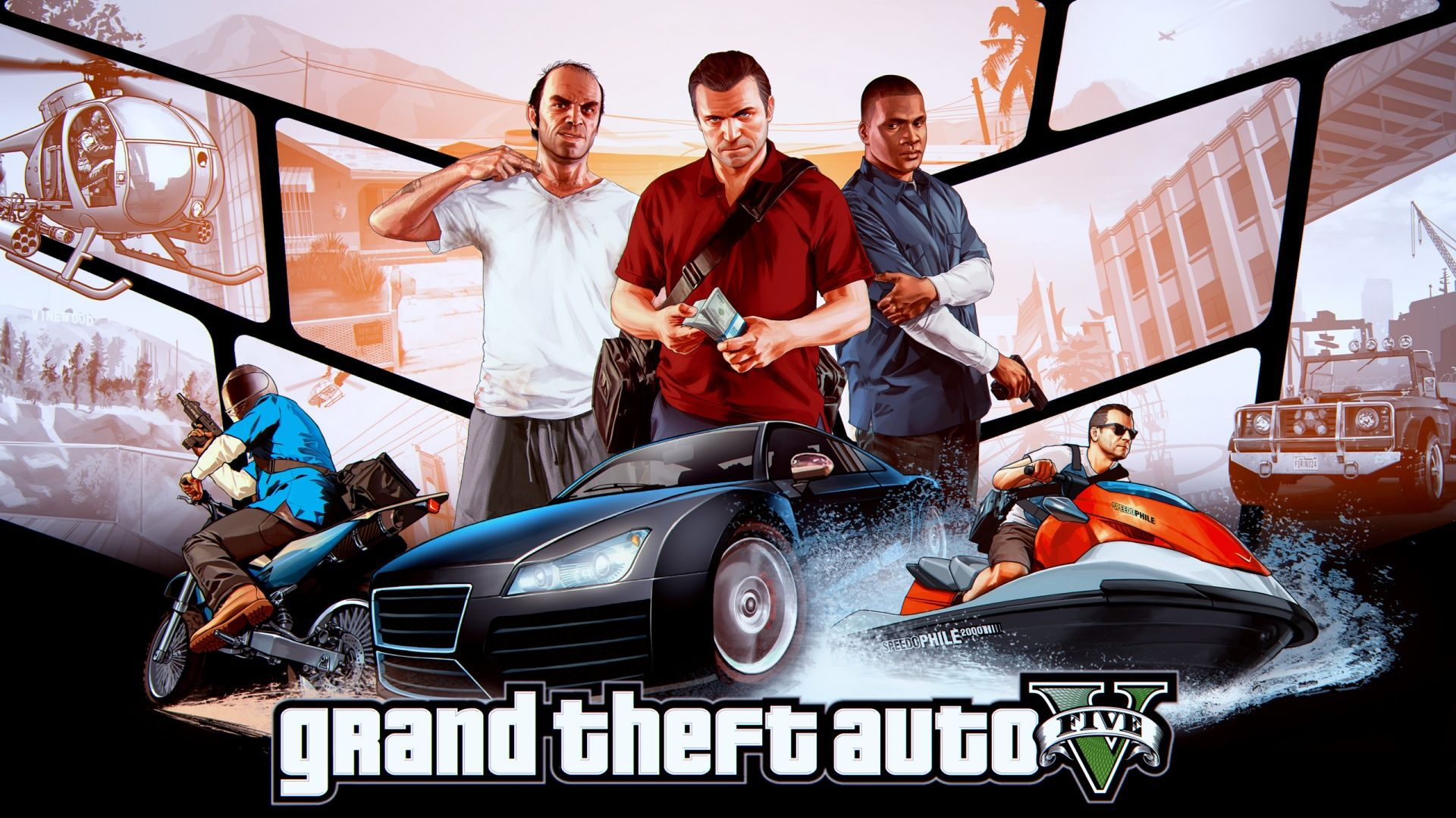Gta Fan Art Wallpaper V Games Video Games Bollywood Wallpaper Ps