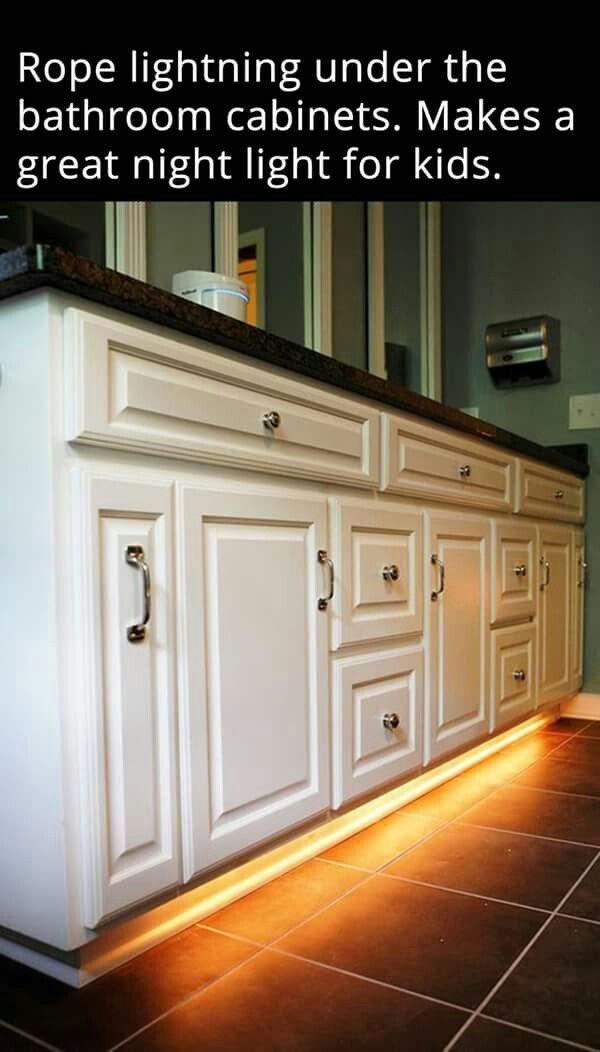 Under Kitchen Floor Cabinets Light That Come On At Night