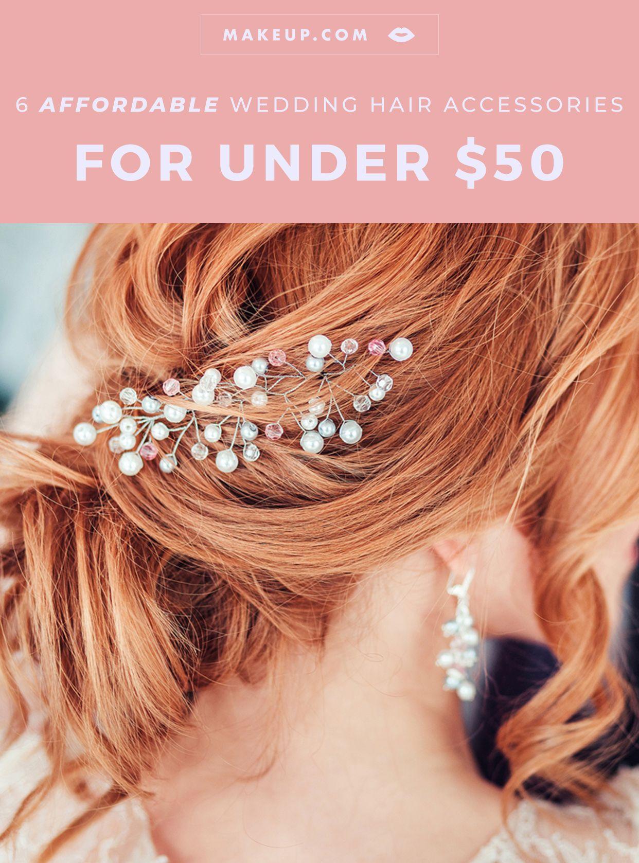 6 wedding hair accessories under $50 | wedding beauty