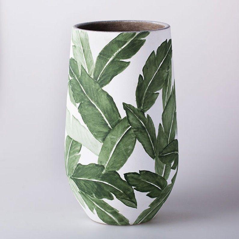 Palm Leaf Vases