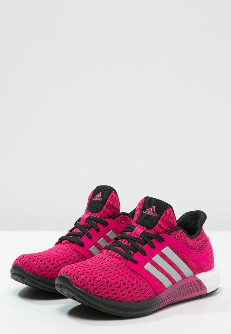 Baskets adidas Performance SOLAR BOOST - Chaussures de running avec amorti  - bold pink silver metallic core black rose  40 8c22704c7