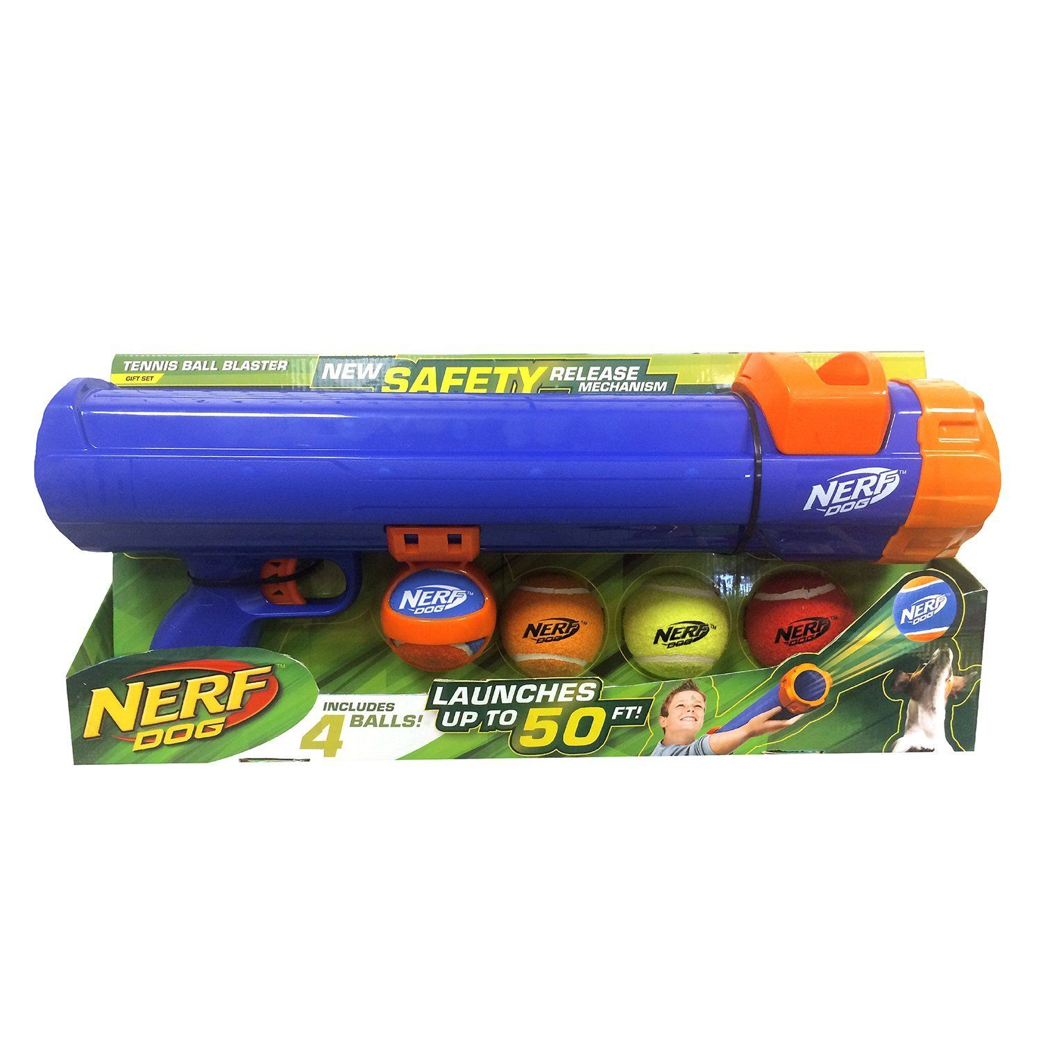 NERF guns are great for office warfare, or warfare between family members,  but guess what? Your dog feels left out. He would like some of that sweet  NERF ...