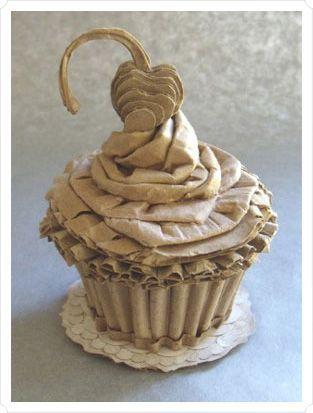 paper art- cupcake :)