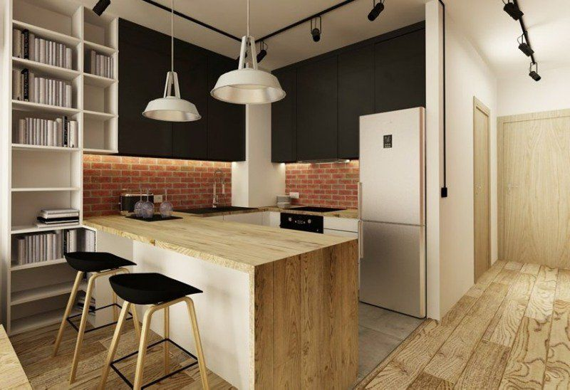 plan de travail cuisine 50 id es de mat riaux et couleurs plan de travail cuisine cr dence. Black Bedroom Furniture Sets. Home Design Ideas