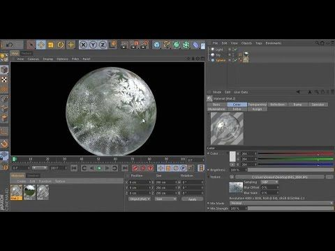 CGI Cinema 4D Tutorial HD: