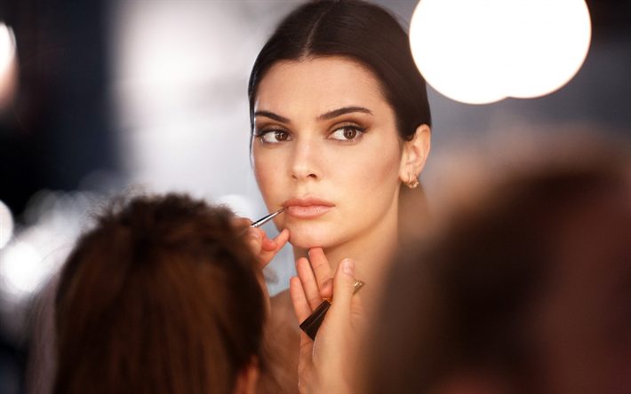 Imagenes De Maquillaje Para Descargar: Descargar Fondos De Pantalla Kendall Jenner, Modelo