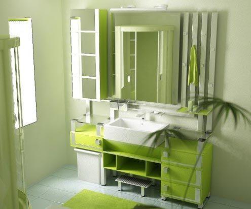 salle de bain couleurs vives - Recherche Google