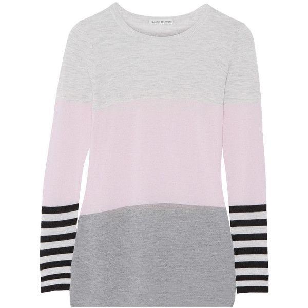 Autumn Cashmere Color block cashmere sweater ($126) </div>             </div>   </div>       </div>     <div class=