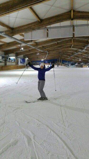Skiën in Bottrop 2016.