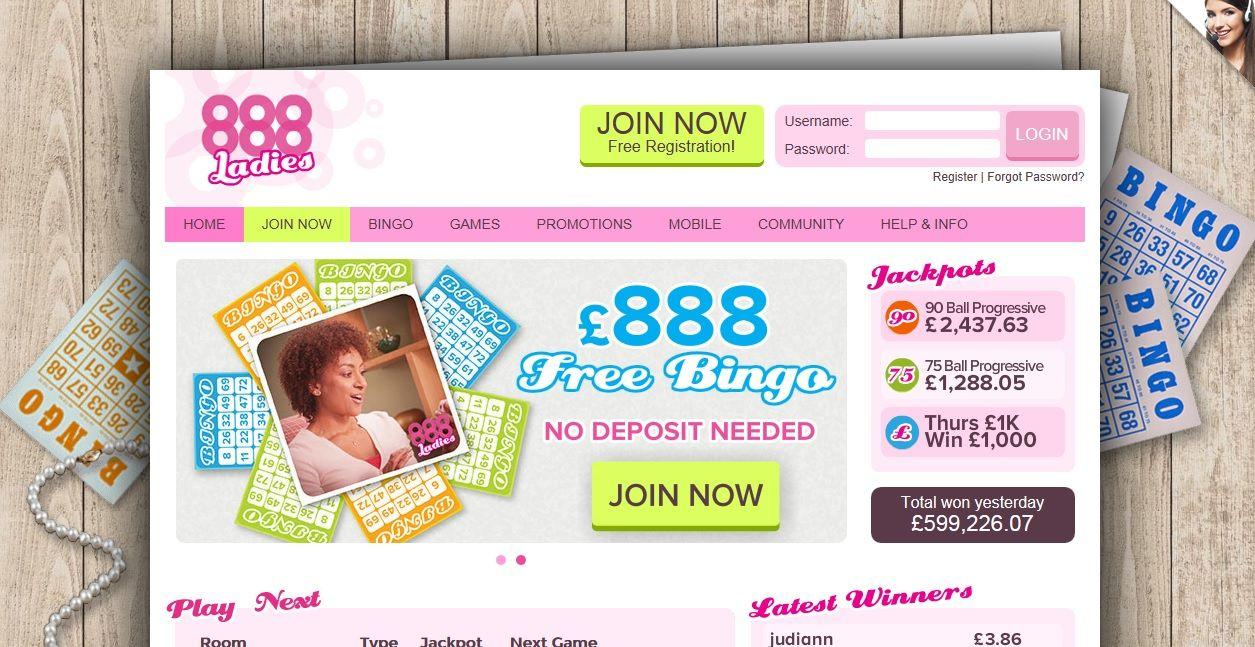 888 ladies bingo Review Unique 1 Best Value Promo Code