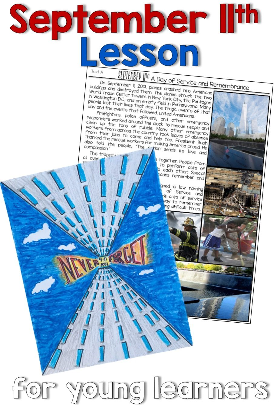 small resolution of September 11th printable articles   September lessons