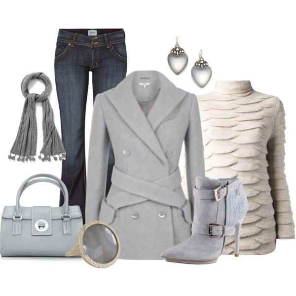 """""""Carven Crushed Wool Jacket"""" by dgia on Polyvore"""