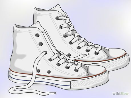 Image titled Clean White Converse Step 1