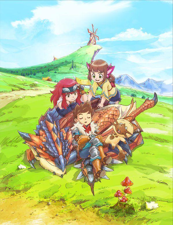 Toho Reveals First Monster Hunter Stories Ride On Anime Box Set