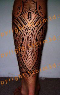 calf tattoo samoan polynesian style ideas for tattoos pinterest calf tattoos tattoo and. Black Bedroom Furniture Sets. Home Design Ideas