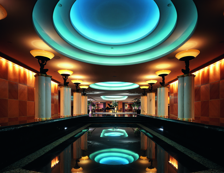 Grand Hyatt Hong Kong's ballroom foyer allows you to make a spectacular entrance. #Vacation #Upscale #Travel