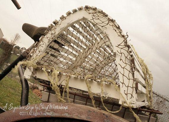 Lobster Trap WEDDING CARD HOLDER Beach | Beach Wedding Shabby Decor ...