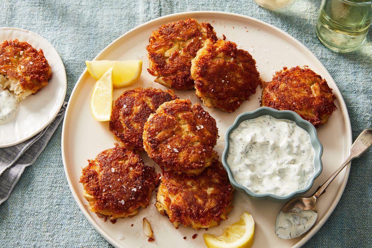 Crab cakes recipe on food52 recipe in 2020 food 52