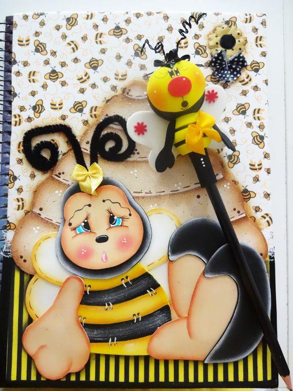 Resultado de imagem para caderno infantil eva com molde