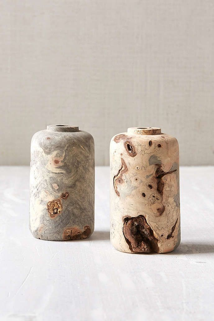 Melanie Abrantes Designs Buckeye Burl Vase - Urban Outfitters