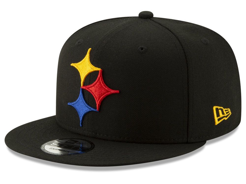 sports shoes 642c5 b5466 Pittsburgh Steelers New Era NFL Logo Elements Collection 9FIFTY Snapback Cap