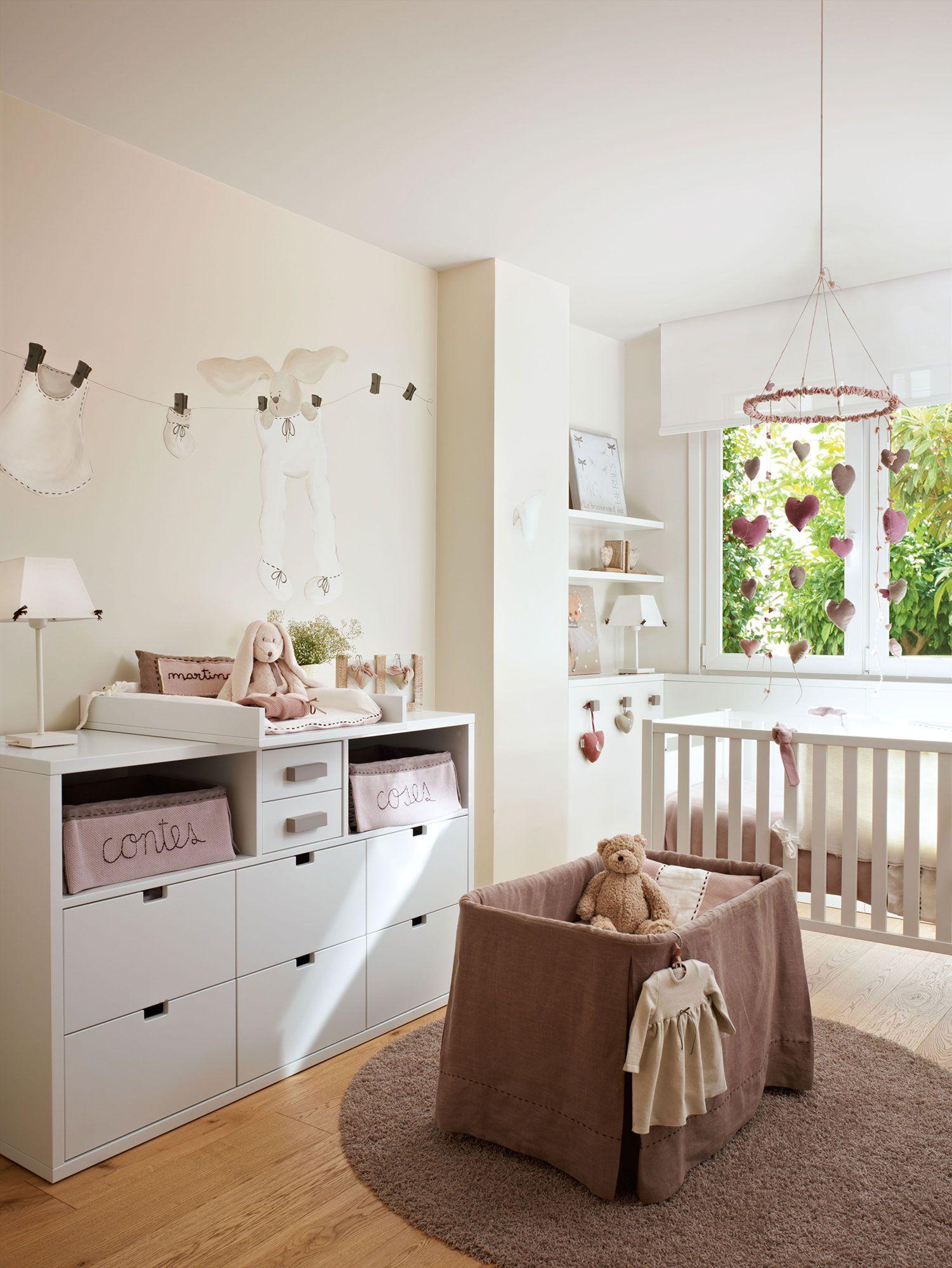 Claves Para Decorar La Habitaci N De Los Ni Os De Beb A  ~ Como Decorar La Habitacion Del Bebe