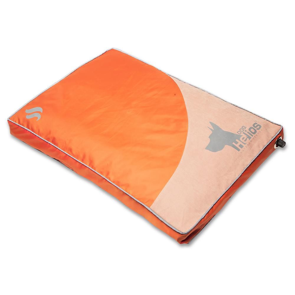Dog Helios Small Orange Aero-Inflatable Outdoor Camping Travel Waterproof Pet Dog Mat Bed-PB72ORSM - The Home Depot