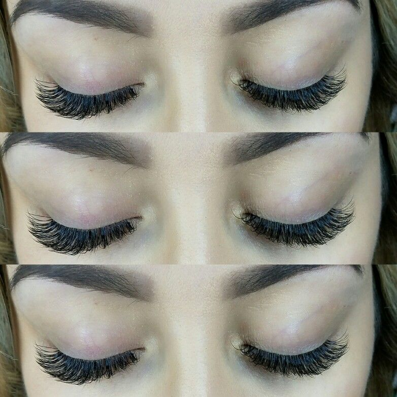 0a012c77076 Doll Eyes - Hybrid Lash Extensions Classic and Volume Mix | Lash ...