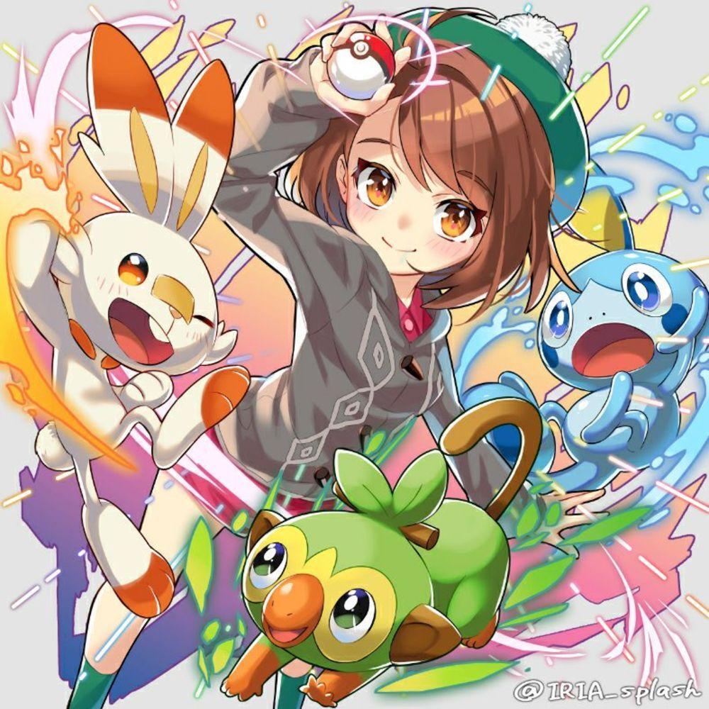 Fanart Pokemon Epee Et Pokemon Bouclier Partie 2 Pokemon